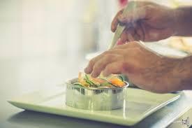 dressage en cuisine dressage des tagliatelles de légumes frais picture of l hermine