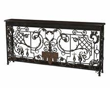 Wrought Iron Console Table Wrought Iron Console Tables Ebay