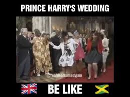 Meme Wedding - prince harry and meghan markle dancing at the royal wedding meme