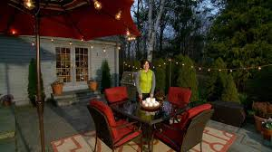 Outdoor Lighting For Patios by Video Learn U0026 Do Lighting Your Patio For Outdoor Entertaining