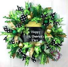 424 best st patricks day wreaths images on