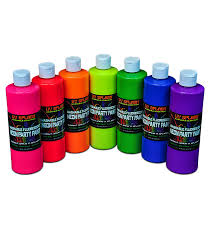 16 fl oz neon glowing party paint