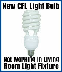in light bulbs new cfl light bulb not working in light fixture dimmer switch