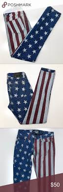 rude american men s rude american flag skinny jeans 30x32 rocker rockers skinny