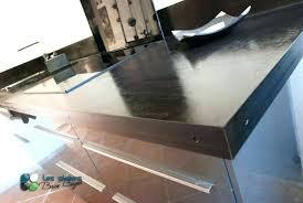 beton ciré pour plan de travail cuisine beton cire plan de travail plan travail beton cire plan de travail
