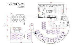 layout denah cafe desain cafe resto minimalis modern