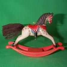 rocking horses hallmark ornaments