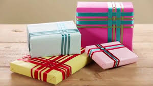 How To Wrap Wedding Gifts - how to wrap a present with a woven ribbon gift topper youtube