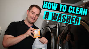 how to clean your washing machine quick u0026 easy youtube
