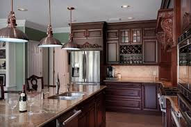 kitchen dark cabinets country designs personalised home design