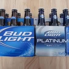 bud light can calories bottom shelf beer bud light platinum vs bud light serious eats