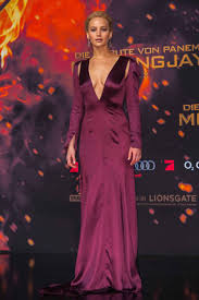 jennifer lawrence and others in gorgeous gowns at the hunger games