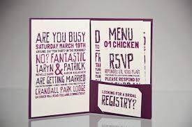 wedding registry invitation wedding invitation set on scad portfolios