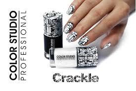 color studio u0027s crackle nail polish u2013 lets paint the world colors