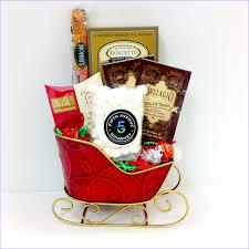 the holiday sleigh gourmet gift baskets fifth avenue gourmet llc