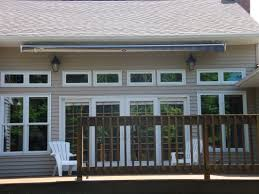 soffit mounted retractable awning google search not too visible