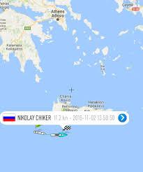 Crete Map Tugboat