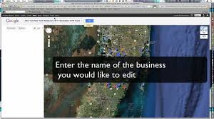Maps Google Com Miami by How To Edit My Business U0027 Google Maps Places Information Youtube