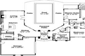 pool house plan 44 mediterranean courtyard house plans pool house plans with