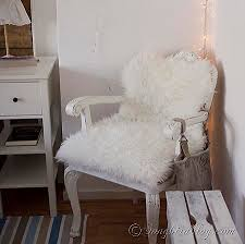 fur chair cover five minute reupholstering with faux fur
