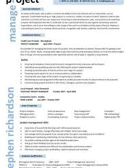 Sap Project Manager Resume Project Management Resume Examples Resume Example And Free
