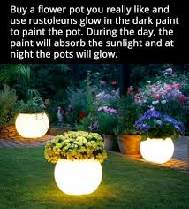 glow in the dark flower pots home gardening pinterest dark can do this for hanging patio plants attractive glow i the dark pot for the back yard fun gardening today