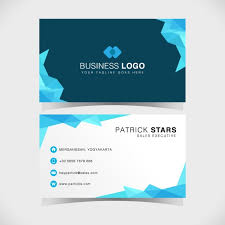 Sales Business Card Business Card Design Vector Free Download