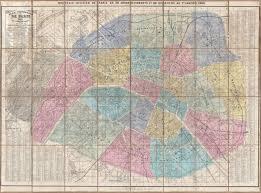 Paris France Map by File 1860 Andriveau Goujon Case Map Of Paris France
