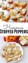 hummus stuffed peppers living well kitchen