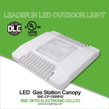 led gas station canopy lights manufacturers snc cp 130wf02 china snc ul cul dlc led canopy light for gas