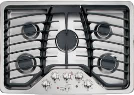 Sealed Burner Gas Cooktop Ge Pgp953setss 30 Inch Gas Cooktop With 5 Sealed Burners 15 000