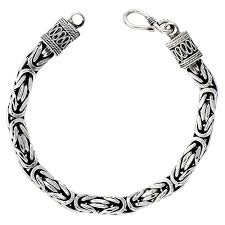 antique silver necklace chains images Byzantine chains jpg