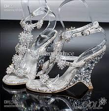 cheap silver wedding shoes cheap sale litter silver bridal high heels shoes wedding