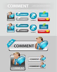 creative font design online elements of creative web button design vector material 22 vector