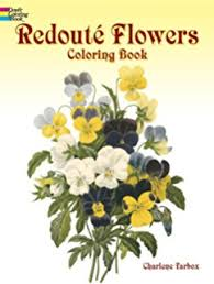 language flowers coloring book dover nature coloring book
