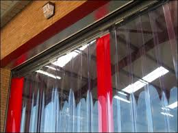 Sliding Pvc Strip Curtains Chiller Blinds Product Gallery