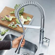 grohe kitchen sink faucets faucets with user centric features from grohe k7 single lever sink