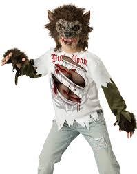 spirit halloween bakersfield ca kids werewolf wolf howling moon twilight moon boys halloween