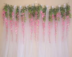 tulle backdrop tulle curtain etsy