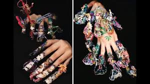 30 the craziest nail art ever cool and crazy nail designs ideas