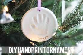 handprint ornament diy you u0027re so martha