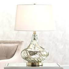Mercury Glass Table Lamp Silver Mercury Glass Table Lamp Lightings And Lamps Ideas