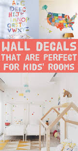 30 completely adorable wall decals for kids u0027 rooms