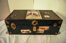 leather antique chests u0026 trunks 1900 1950 ebay