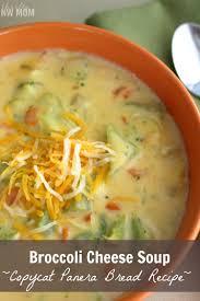 broccoli cheese soup recipe panera bread copycat recipe