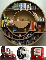 concept to reality curved u0026 rounded bookcase designs