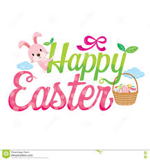 happy easter letter decorating stock vector image 80968444