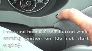 how to reset service light on 2012 vw jetta golf youtube