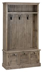 Pine Furniture Stores Jofran 940 15 Reclaimed Pine Hall Tree In Waxed Beyond Stores