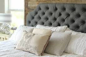 Diy Quilted Headboard by Cool Lovable Upholstered Headboard And Footboard Solid Wood Bed